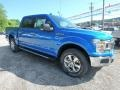 2019 Velocity Blue Ford F150 XLT SuperCrew 4x4  photo #8