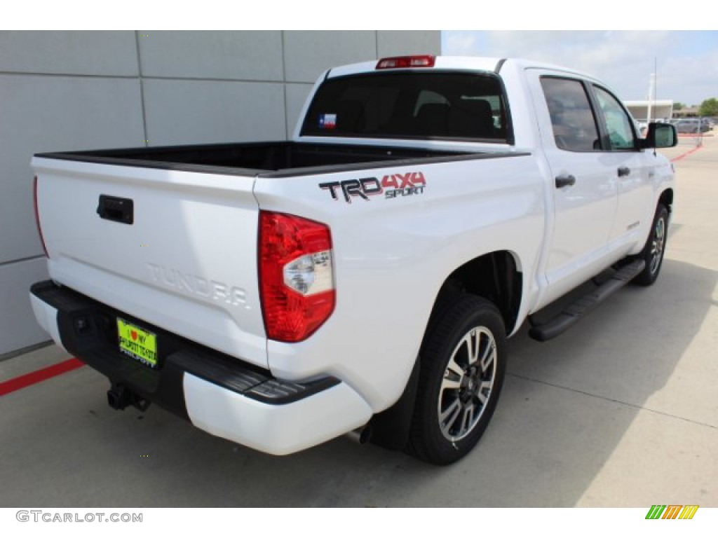 2019 Tundra SR5 CrewMax 4x4 - Super White / Graphite photo #13