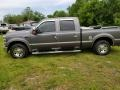 2008 Dark Shadow Grey Metallic Ford F250 Super Duty XLT Crew Cab  photo #2