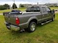 2008 Dark Shadow Grey Metallic Ford F250 Super Duty XLT Crew Cab  photo #6
