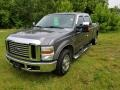 2008 Dark Shadow Grey Metallic Ford F250 Super Duty XLT Crew Cab  photo #10