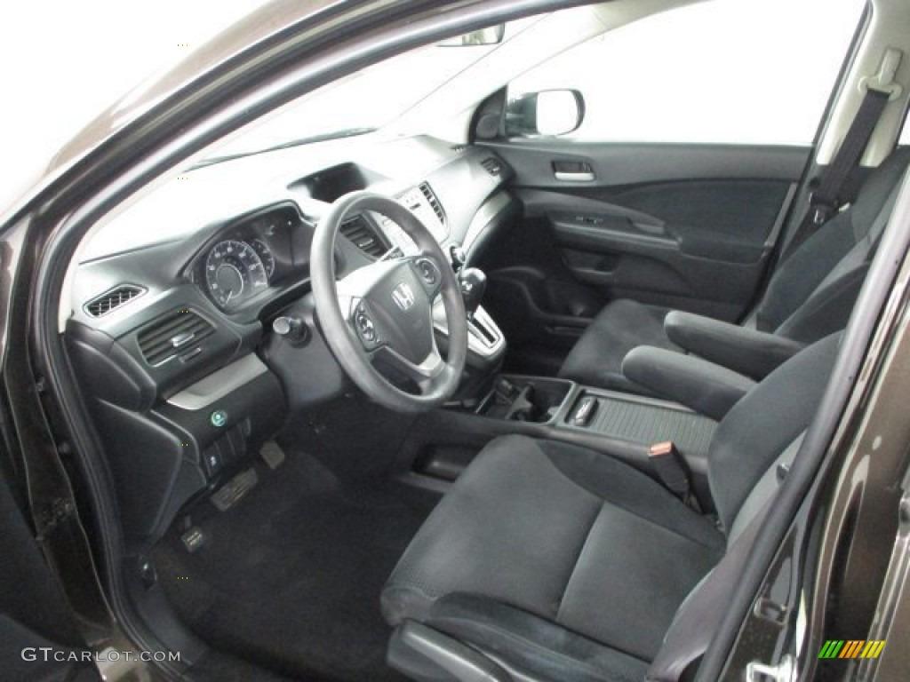 2013 CR-V EX AWD - Crystal Black Pearl / Black photo #18