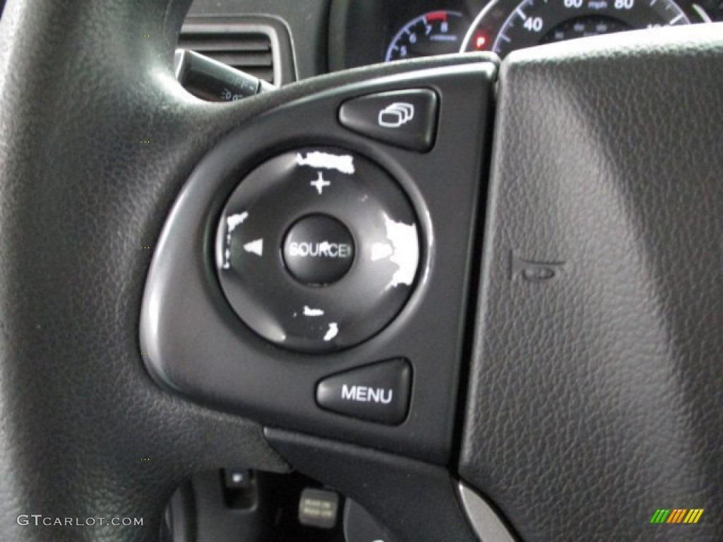 2013 CR-V EX AWD - Crystal Black Pearl / Black photo #21