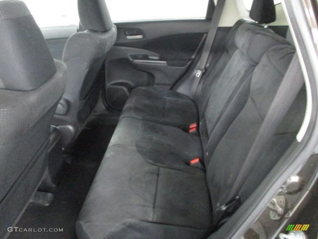 2013 CR-V EX AWD - Crystal Black Pearl / Black photo #35