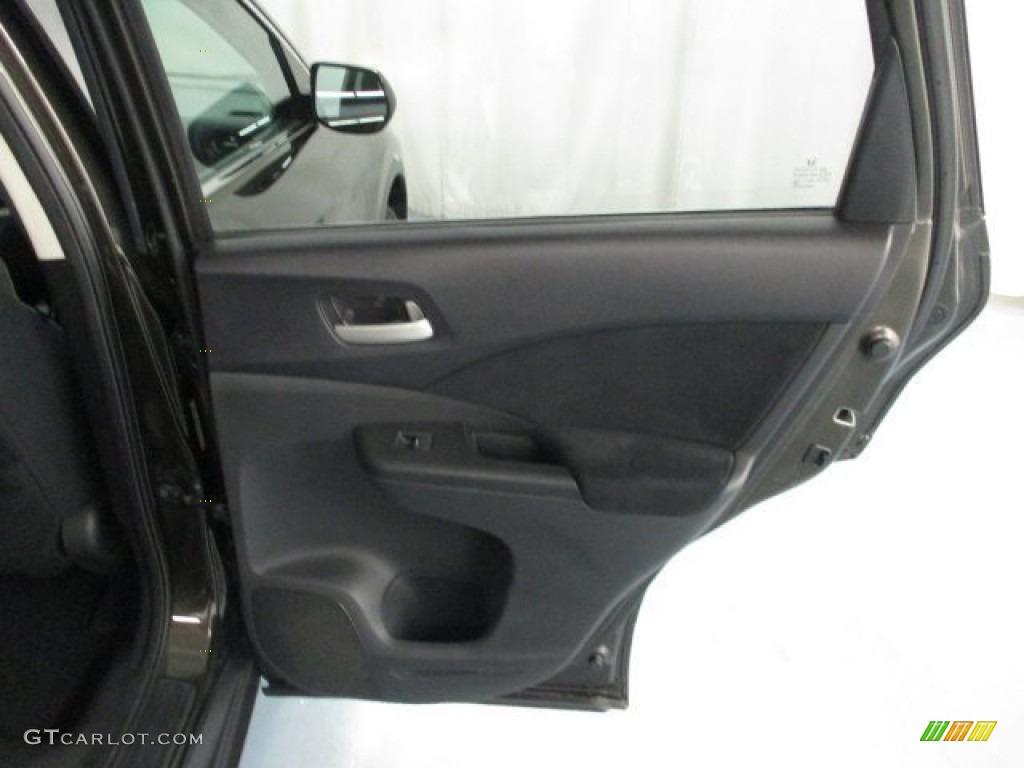 2013 CR-V EX AWD - Crystal Black Pearl / Black photo #37
