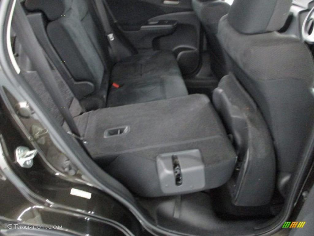 2013 CR-V EX AWD - Crystal Black Pearl / Black photo #39