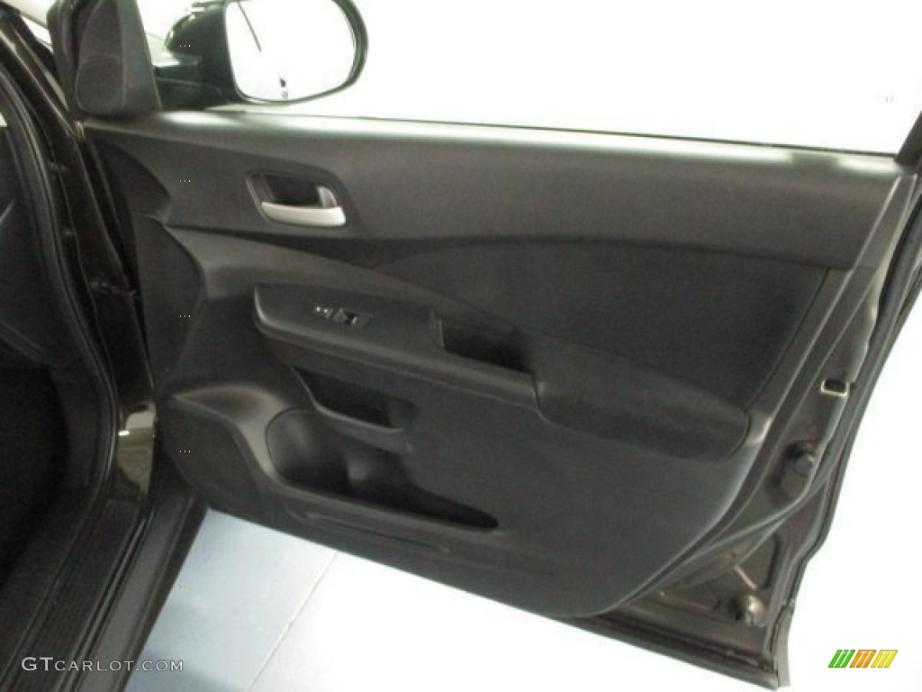 2013 CR-V EX AWD - Crystal Black Pearl / Black photo #40