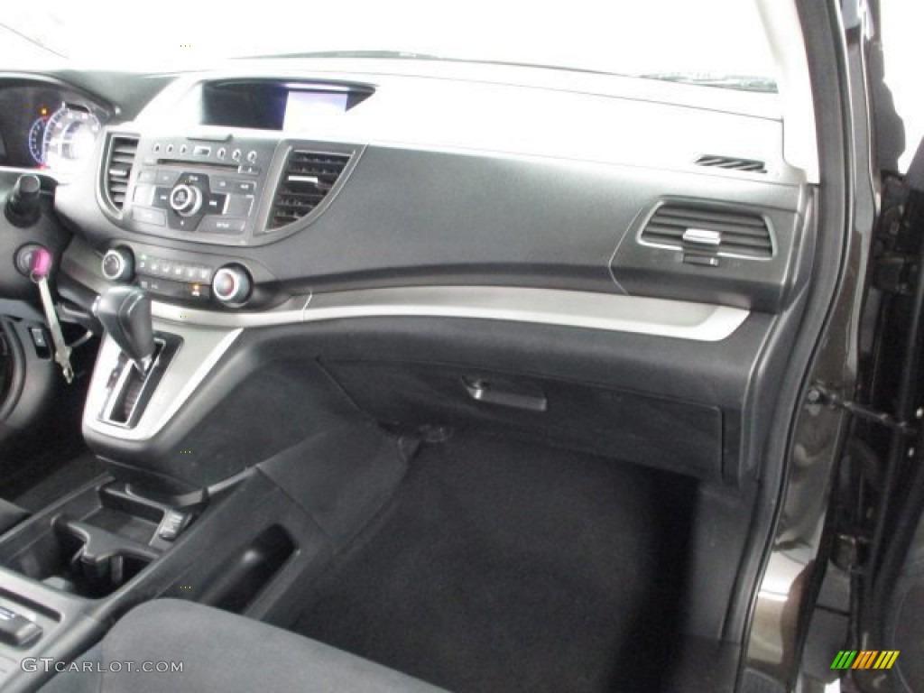 2013 CR-V EX AWD - Crystal Black Pearl / Black photo #42