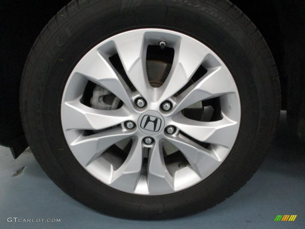 2013 CR-V EX AWD - Crystal Black Pearl / Black photo #44