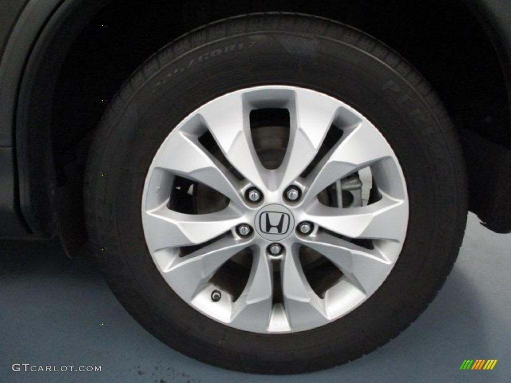 2013 CR-V EX AWD - Crystal Black Pearl / Black photo #45