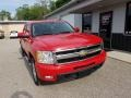 2011 Victory Red Chevrolet Silverado 1500 LTZ Crew Cab 4x4  photo #3