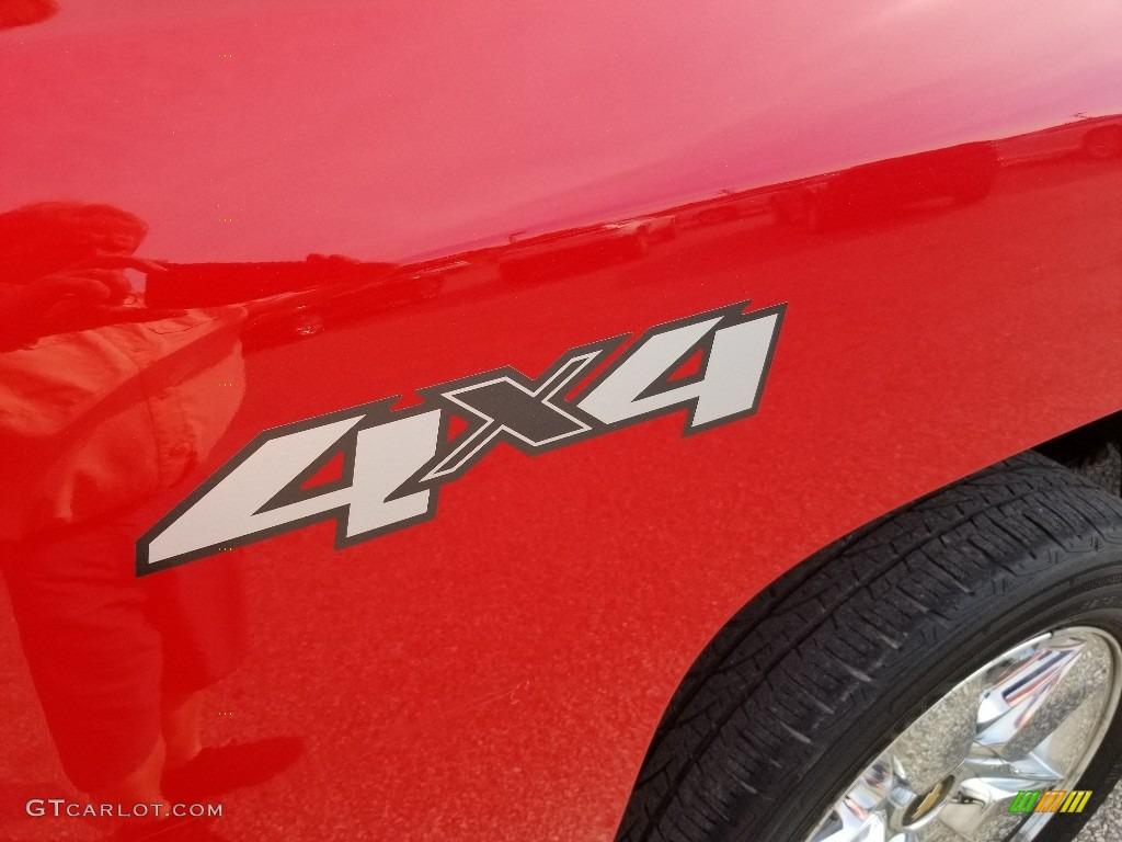 2011 Silverado 1500 LTZ Crew Cab 4x4 - Victory Red / Ebony photo #8