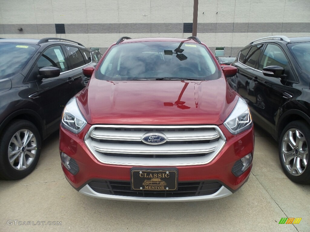 2019 Escape SEL - Ruby Red / Chromite Gray/Charcoal Black photo #2