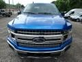 2019 Velocity Blue Ford F150 XLT SuperCrew 4x4  photo #7