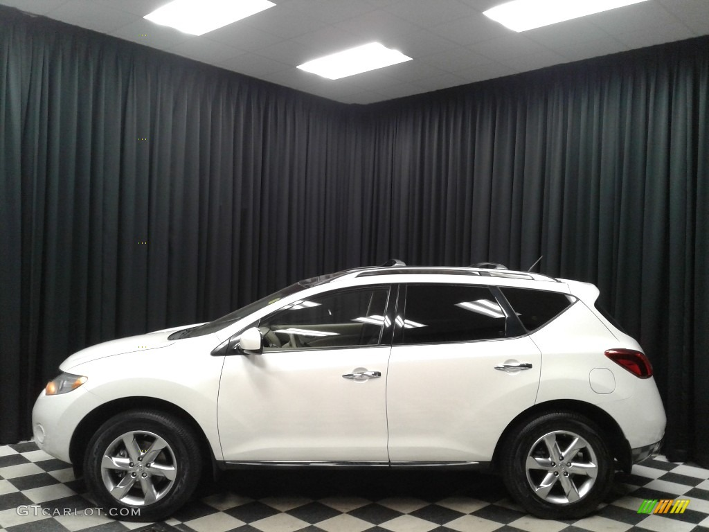 2010 Murano SL - Glacier White Pearl / Beige photo #1