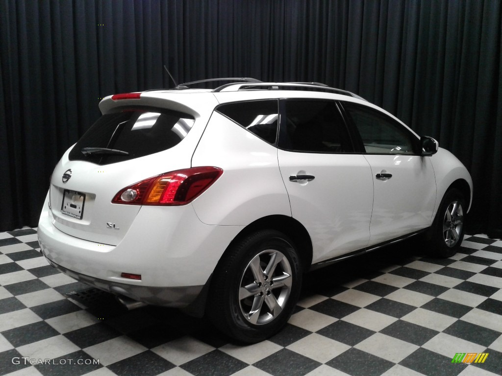 2010 Murano SL - Glacier White Pearl / Beige photo #6