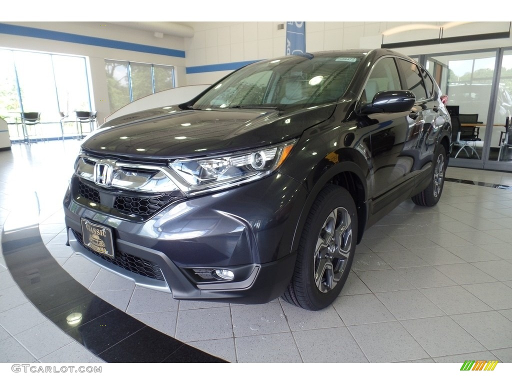 2019 CR-V EX-L - Gunmetal Metallic / Gray photo #1