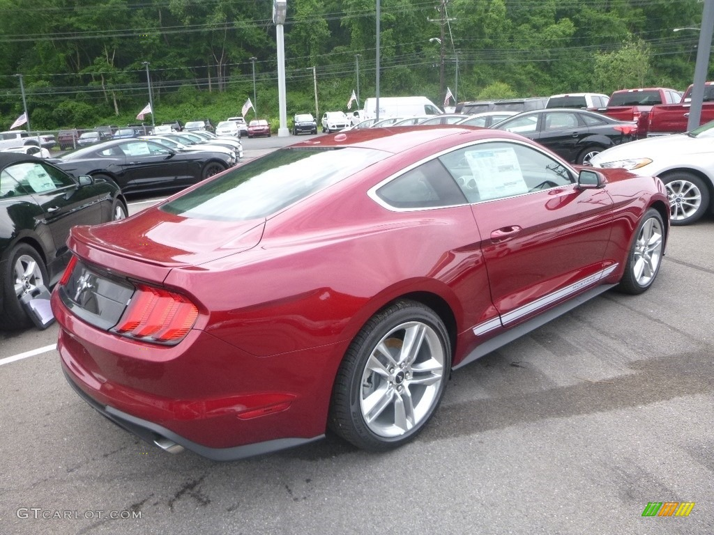 2019 Mustang EcoBoost Premium Fastback - Ruby Red / Ebony photo #2