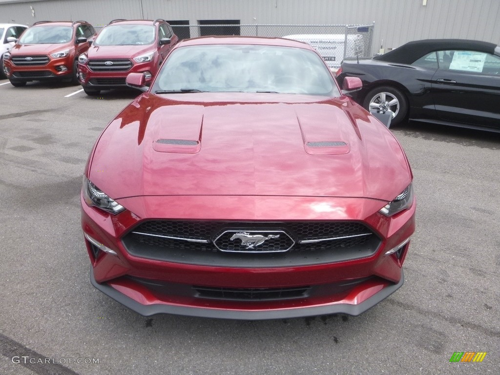 2019 Mustang EcoBoost Premium Fastback - Ruby Red / Ebony photo #4