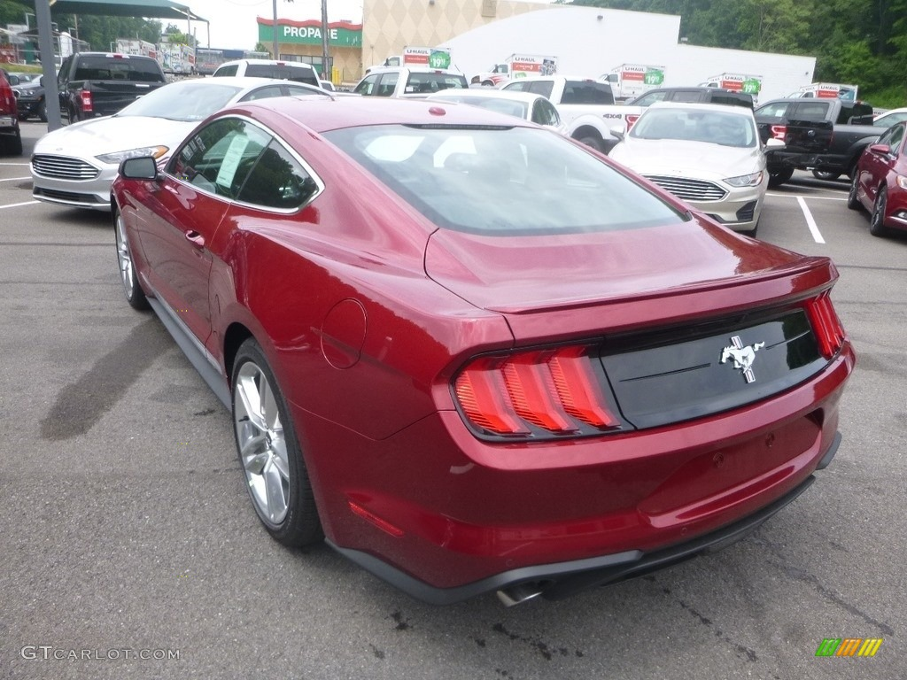 2019 Mustang EcoBoost Premium Fastback - Ruby Red / Ebony photo #6