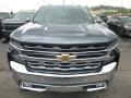 2019 Shadow Gray Metallic Chevrolet Silverado 1500 LTZ Crew Cab 4WD  photo #9