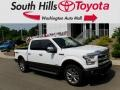 White Platinum - F150 Lariat SuperCrew 4x4 Photo No. 1