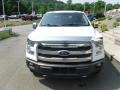 White Platinum - F150 Lariat SuperCrew 4x4 Photo No. 7