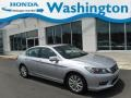 Alabaster Silver Metallic 2014 Honda Accord EX-L Sedan