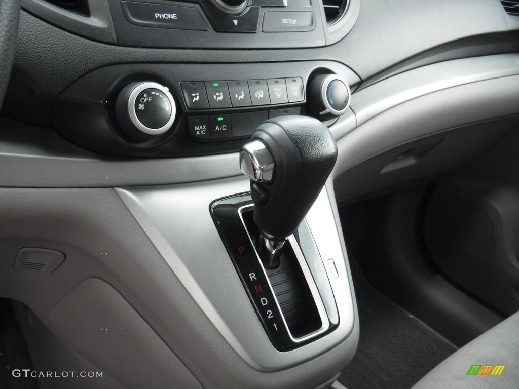 2013 CR-V LX AWD - Alabaster Silver Metallic / Gray photo #15