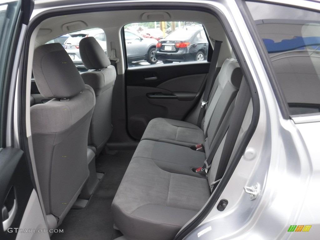 2013 CR-V LX AWD - Alabaster Silver Metallic / Gray photo #20