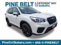 Crystal White Pearl 2019 Subaru Forester 2.5i Sport