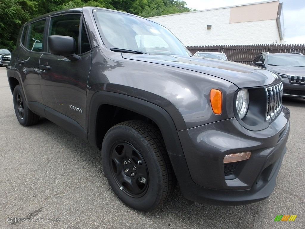 2019 Renegade Sport 4x4 - Granite Crystal Metallic / Black photo #8