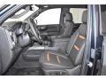 2019 Sierra 1500 AT4 Crew Cab 4WD Jet Black Interior