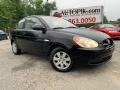 Ebony Black 2008 Hyundai Accent GS Coupe