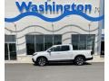 White Diamond Pearl - Ridgeline RTL AWD Photo No. 1