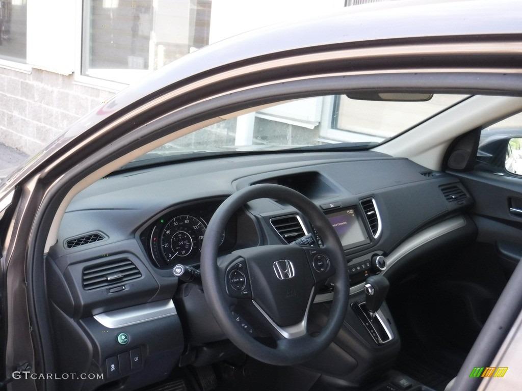 2016 CR-V EX AWD - Urban Titanium Metallic / Beige photo #11