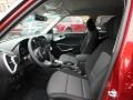 Front Seat of 2020 Soul LX