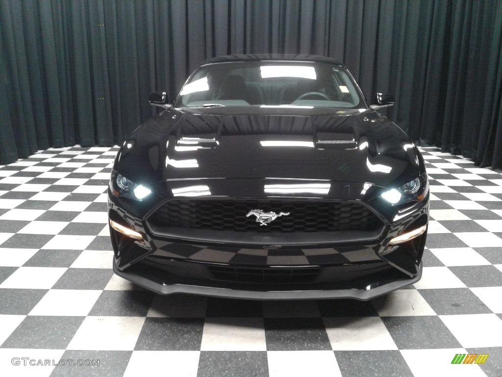 2018 Mustang EcoBoost Fastback - Shadow Black / Ebony photo #3