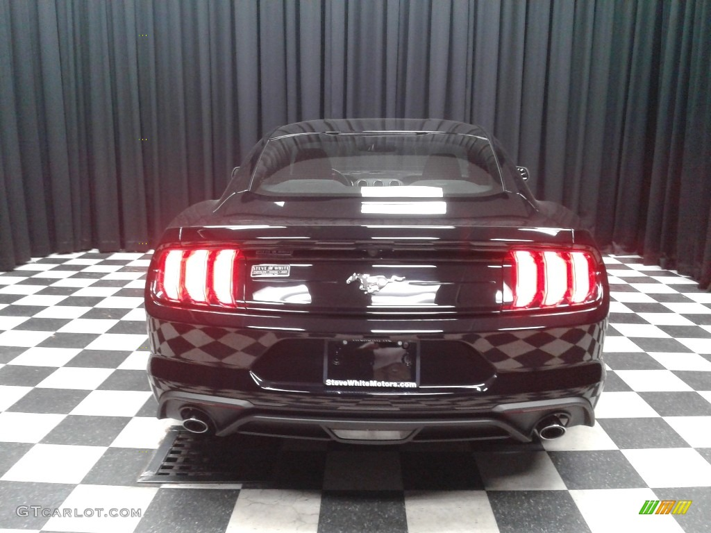 2018 Mustang EcoBoost Fastback - Shadow Black / Ebony photo #7