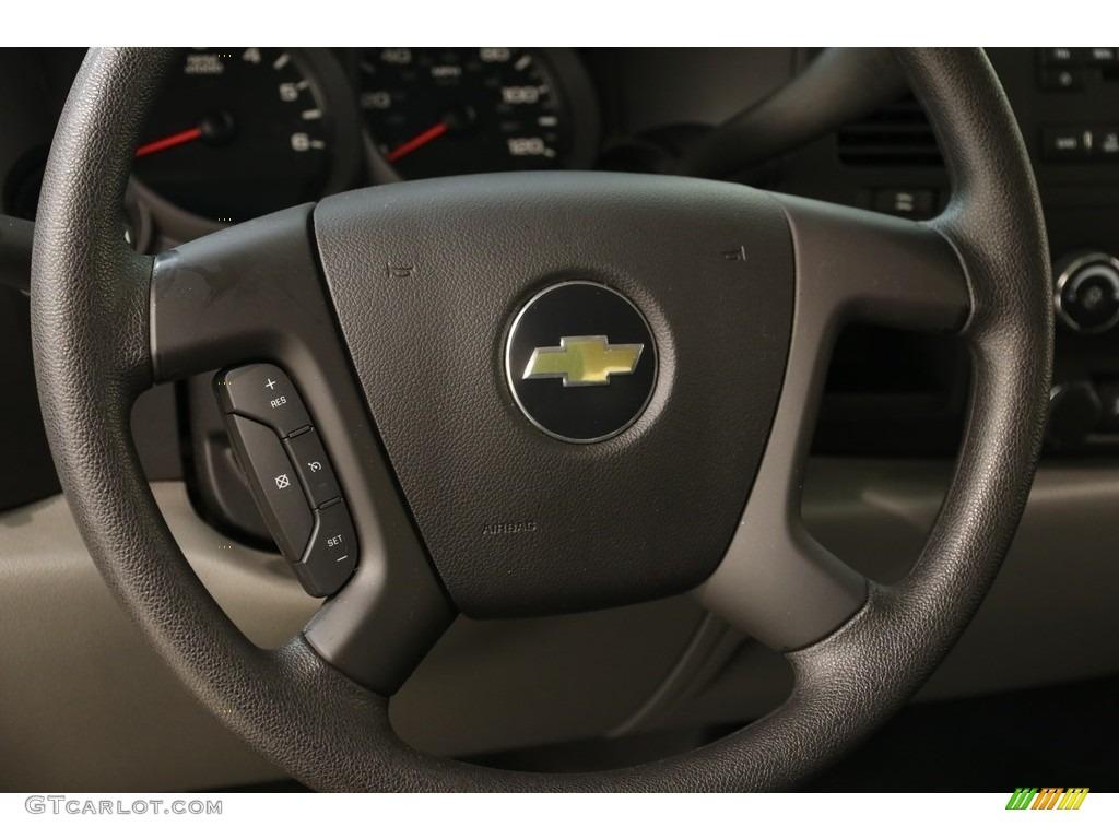 2011 Silverado 1500 LS Extended Cab - Victory Red / Dark Titanium photo #7