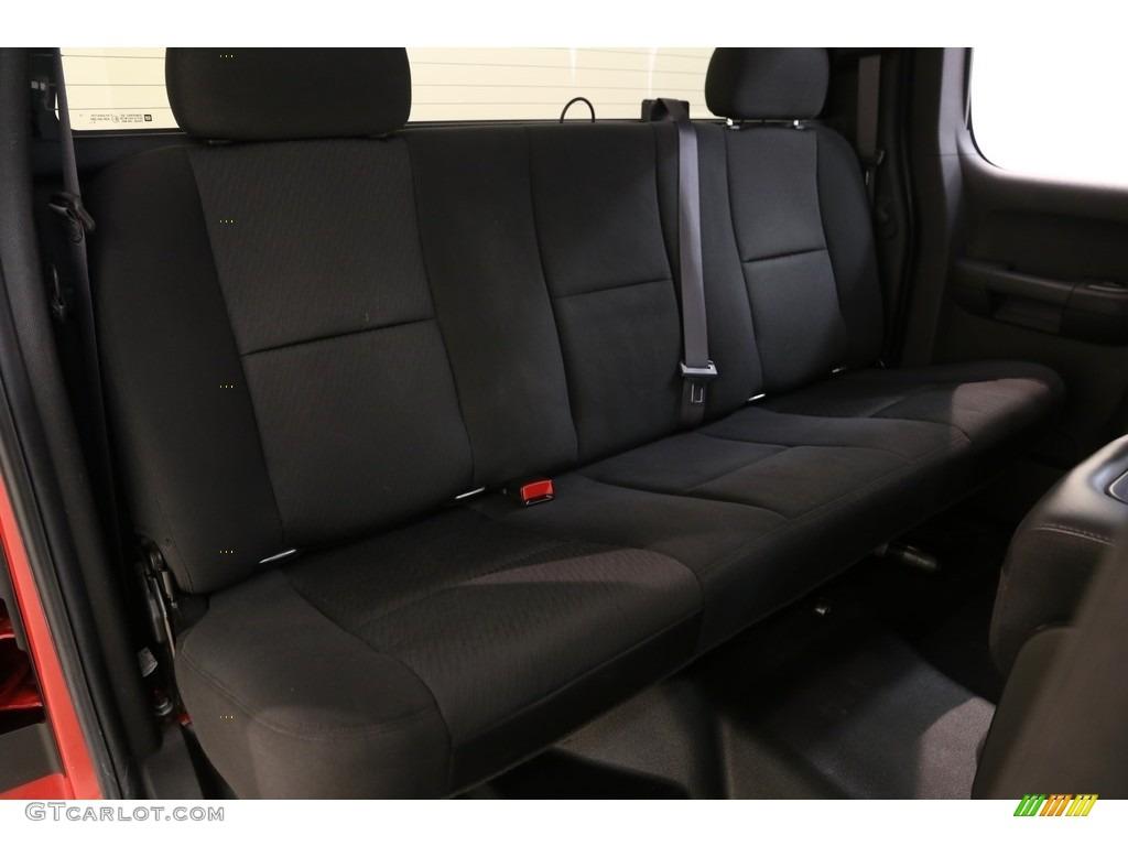 2011 Silverado 1500 LS Extended Cab - Victory Red / Dark Titanium photo #12