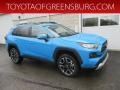 Blue Flame 2019 Toyota RAV4 Adventure AWD
