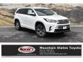 Blizzard Pearl White 2019 Toyota Highlander Limited Platinum AWD