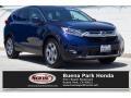 2017 Obsidian Blue Pearl Honda CR-V EX-L #133647080