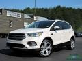 2017 White Platinum Ford Escape Titanium 4WD  photo #1