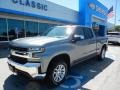 2019 Satin Steel Metallic Chevrolet Silverado 1500 LT Double Cab 4WD #133658669