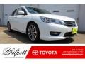 White Orchid Pearl 2014 Honda Accord Sport Sedan