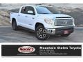 2017 Super White Toyota Tundra Limited CrewMax 4x4  photo #1