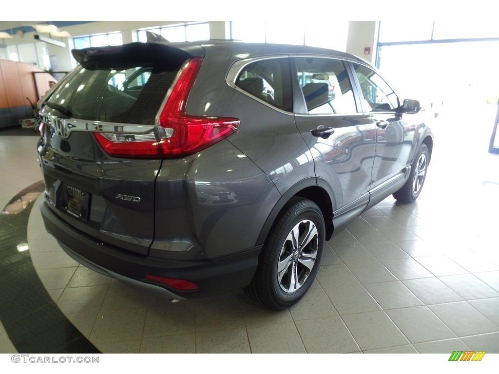 2019 CR-V LX AWD - Modern Steel Metallic / Black photo #5