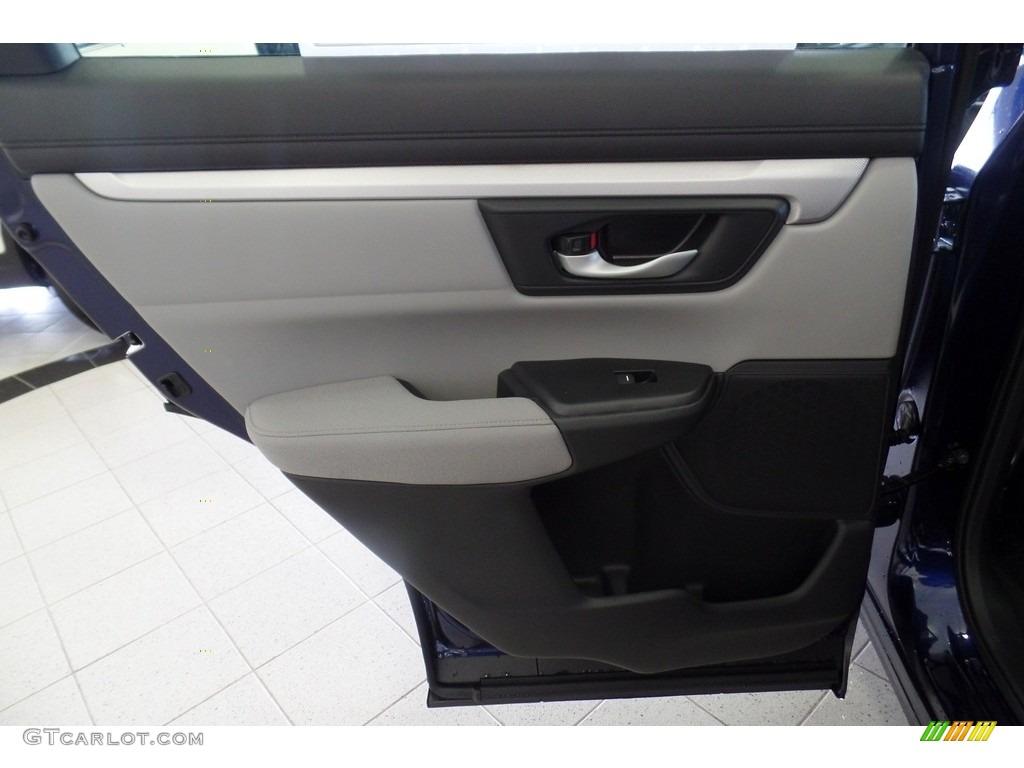 2019 CR-V LX AWD - Obsidian Blue Pearl / Gray photo #6